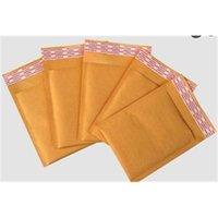 (110 * 130mm) 100 pz / lotti bolla mailer imbottito buste con imballaggio sacchetti di spedizione borse kraft bolle di busta posta bancarie Y200709