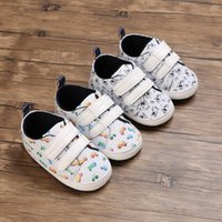 First Walkers Baby Shoes Dog And Cars Adorable Infant Toddler Boy Girl Crib Cute Cartoon Anti-slip Prewalker