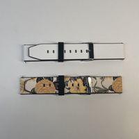 Sublimazione personalizzata in pelle di sublimazione in pelle PU in pelle PU Smart Watch Band K98