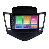 9 인치 안 드 로이드 10 자동차 DVD HD 라디오 플레이어 GPS 네비게이션으로 Chevy Chevrolet Cruze 2013-2015 용 USB OBD2 터치 스크린 SWC