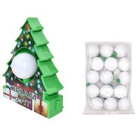 Christmas Decorations DIY Tree Rotate Drawing Ball Set Electric Painting Machine Decoration Kids Toys For Children Gift