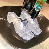 Yaz Bayanlar Jöle Terlik Yüksek topuklu Sandalet Şeffaf Terlik Kaymaz Sandalet Moda Açık Nefes Ayakkabı Fabrika Üretim Fiyat İmtiyazları