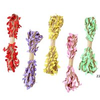 3m 10m navidad fiesta de halloween decoración artificial hoja natural hessian jute jute cuerda cuerda arpillera bricolaje artesanía vintage HWB9796