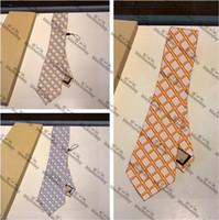 Мода битник шеи галстуки с коробкой шелковый мужской шеи галстуки открытый рабочий бизнес формальные случаи одеваются галстуки