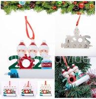 DHL 빠른 크리스마스 장식 파티 호소스 장식품 수지 산타 클로스 마스크 장식 크리스마스 트리 매달려 펜던트 MT20