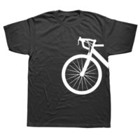 Горный велосипед Сердцебиение Смешное Biker T Рубашка Негабаритный Пользовательский Коротким Рукавом Мужская Велосипедная Футболка Мода Хлопок Топ Tees 210707