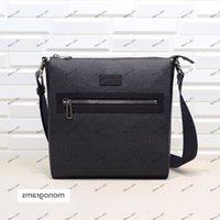 Sıcak satış ünlü deri adam çanta, messenger lüks tasarımcı çanta, crossbody, omuz çantası, 28 * 28.5 * 5.5 cm