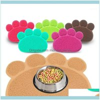Beds Furniture Pet Supplies Home & Gardenfolding Feeding Bowl Waterproof Print Dog Cat Litter Mat Puppy Kitty Dish Placemat Tray Tidy Easy C