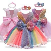 LZH New Kids Dresses For Girls Easter Carnival Costume Flower Girls Wedding Princess Dress Children Evening Party Dress vestidos 210226