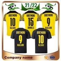 21 22 Dortmund # 11 Reus Soccer Jersey 2021 الصفحة الرئيسية M.Gotze Schulz Brandt Bellingham Sancho Haaland قميص مخاطر Witsel Borussia Footballs