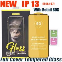 9D Full Cover Tempered Glass Phone Screen Protector For iPhone 13 12 mini 11 Pro XR X XS max Samsung S21 PLUS A22 A32 A42 A52 A72 5G A12 with retail box