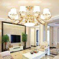 Chandeliers Modern Gold Led Lighting Living Room Decor Pendant Chandelier Lights Bedroom Hanging Lamp Fixtures Luminaire