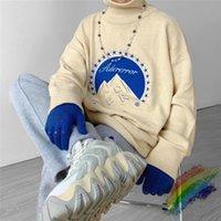 2020 Zima Turtleneck Ader Błąd Sweter Mężczyźni Kobieta Wysokiej Jakości Moda Casual Company Crewneck ADERError Bluzy