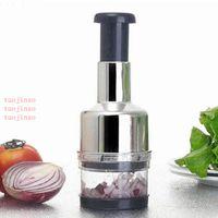 Creative Garlic Chopper Multifunctional Onion Vegetable Slicer Cutter Dicer Utensils New Peeler Manual Food Kitchen Cooking Tools VT1599