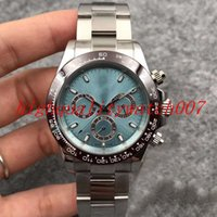 BP7750 Mouvement Best-Selling Homme Montre-Bracelet Sapphire 40mm Green cadran Montre Chronographe Mouvement automatique Montres de sport