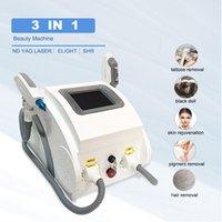 2021 ND Yag Laser Machine For Tattoo Remove Pigmentation Eyebrow Cleaning 1064nm 532nm 1320nm ipl elight skin rejuvenation machines