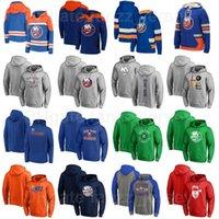 뉴욕 야 섬 하키 hooky hoody pullover jackets 18 Anthony Beauvillier 후드 44 Jean-Gabriel Pageau Hoodies 6 Ryan Pulock Sweatshirts Man Woman Youth