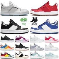 Ayakkabı Nike Dunk Low Disrupt Air Force 1 Pixel Airforce One AF1 Off White Dunks Erkek Bayan Günlük Ayakkabılar Beyaz Siyah Zar zor Gül Pembe Gümüş Çiçeği Spor Sneakers Eğitmenler
