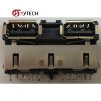 Syytech HDMI Connector Sostituzione della fornitura di fabbrica Doppia presa per PS4 1200 PlayStation 4 Accessori da gioco Prodotti