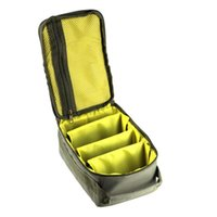 Fishing Accessories 4-Layer Large Capacity Portable Multiple Compartments Line Reel Lure Hook Storage Handbag Utility Bag