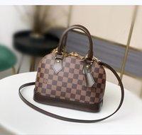 "Bolsa Clássica Luxo BB Shell Bag Messenger Mulheres LeatherhandBags Designers Bolsa de Bolsa de Bolsa ""LV"" Lov ""Louis"" Vitton Vutton"