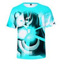 Erkek T-Shirt Danganronpa Monokuma T Gömlek 3D Baskılı Komik Erkekler Kadınlar Çocuk Tshirt Cosplay Kostümleri Gençler Erkek Kız Japon Tarzı T-Sh Tops