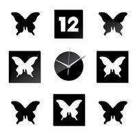 Wall Clocks Home Decoration Diy 3d Acrylic Mirror Stickers Clock Watch Reloj De Pared Quartz Liv