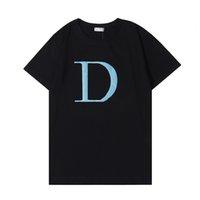 2021 Erkek Stylist T Gömlek Rahat Erkekler kadın Tasarımcısı Tişörtleri Yüksek Kaliteli Şort Kol Giyim AB (ABD) Boyut S-2XL J44 Tops