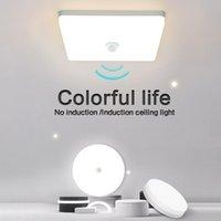 Spotlights Neutral Light LED Ceiling Lights Round Square Energy Saving 36W 48W Bedroom Sensor Lamp For Living Room Bathroom