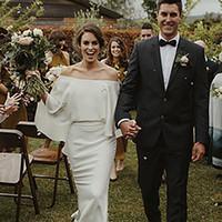 Av den nya axelbröllopet En linje Chiffon Bride Winter Mother of Bridal Gown 2021 Vestidos de Novia 23k6