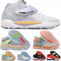 KD 12 Kevin Durant 13 Zapatos de baloncesto KY-D Dream tía Pearl Peach Jam Eybl Nationals EP 14 Shoe Deep Royal Wavvy Hyped University Red Chill Sychedélico Sneakers