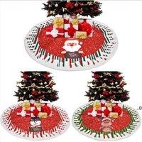 شجرة عيد الميلاد التنانير الأشجار الديكور حصيرة عيد الميلاد ثلج الرنة حلية المنزل عطلة مهرجان حزب ديكورات FWB9469