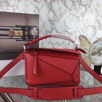 Designer - Sacs de concepteurs de femmes 24cm Classic Géométrique 13 Couleurs Bandoulière Sac à bandoulière Messenger Sac à main