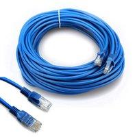 Cable Ethernet RJ45 1m 1,5 M 2m 3m 5m 10m 15m 20m 30m para CAT5E CAT5 Cable de red de Internet Cable de cable LAN para PC Cable de red LAN LAN