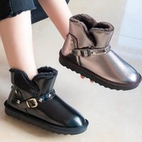 Boots 2021 Snow Women's Winter Wild Korean Short Tube Flat Bottom Bread Shoes Students Plus Velvet Cotton