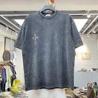 Трэвис Скотт Мужские и женские толстые тканевые футболки, высококачественные винтажные одежды, кактус Джек, негабаритный, Harajuku