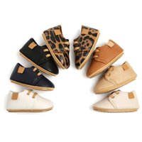 First Walkers YOXIKORA Luxury Soft Leather Baby Moccasins Born TPR Soled Anti-Slip Toddler Shoes Infant Girls Boys Prewalkers