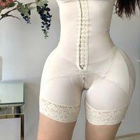 Женские формированные формирующие для женщин Tummy Control Fajas Colombianas Bulifter Bulifter Fore Front Hooks
