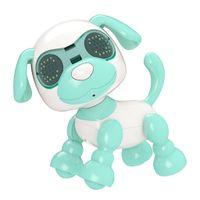 Puppy inteligente - Perro de mascotas interactivo Perrito de perrito Smart Robot Luces de juguete y sonidos Mascotas electrónicas juguetes para perros en edades 3 y más
