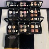 4 цветов макияжа теней для теней для теней для теней для теней для глаз палитры натуральные матовые тени для глаз водонепроницаемая палитра