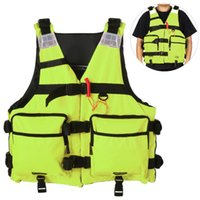 Caiaque vida colete reflexivo jaqueta de vida para caiaque barco pesca vela flutuante segurança waistcoat water esporte
