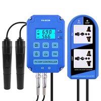 メーターEST 2-in-1 pH ORPレドックスコントローラーWiFi出力電力リレーモニター水質テスターのための水質テスターAQ