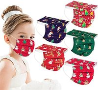 Disposable 3 layers Kids fashion mask  feather dinosaur Fallen leaves Designer Face Masks Non-Woven Anti-Dust top quality