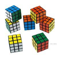 Intelligenz Spielzeug Cyclone Jungen Mini Finger 3x3 Geschwindigkeitswürfel Aufkleberloser Finger Magic Cube 3x3x3 Puzzles Spielzeug Großhandel EWD5172