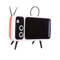 Cell Phone Mounts & Holders Portable Universal Retro TV Desktop Mobile Holder Stand Mount Bracket