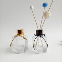 100ML Empty Fragrance Clear Glass Reed Diffuser Bottle Perfume Diffuser Jars Fragrance Accessories Use for DIY Replacement