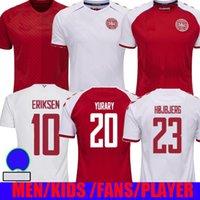 Euro 2020 Cup Dinamarca Jersey Jersey Eriksen 2021 Schmeichel Kjaer Christensen Skov Delaney Braithwaite DBU Home Away Terceiro 3º Dalsegaard Lossl Strwer Yurary