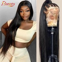 Lace Wigs Malaysian Human Hair Straight 4x4 Closure Wig 13x4 Front For Women With Baby 100% Remy