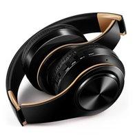 سماعات بلوتوث لاسلكية سماعة ستيريو سماعات سماعات طوي سماعات مع ميكروفون / TF بطاقة راديو FM للألعاب موسيقى الهاتف المحمول