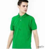 A1 de alta qualidade crocodilo polo camisa homens sólido algodão shorts polo verão casual homme t-shirts polos poloshirt
